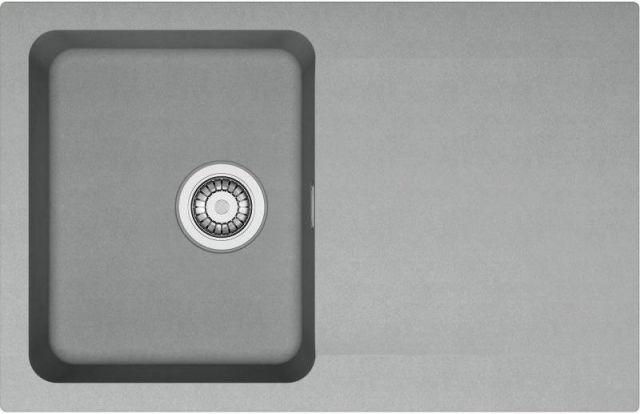 Franke Orion Tectonitový dřez OID 611-78, 780 x 500 mm, šedá 114.0395.184