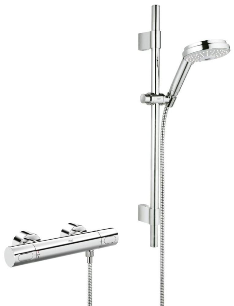 Grohe Grohtherm 3000 Cosmopolitan Termostatická sprchová baterie, chrom 34275000