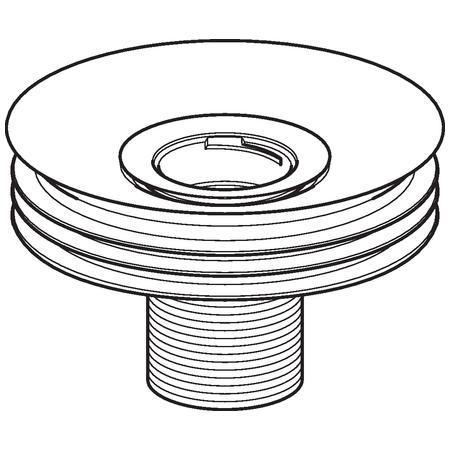 Geberit Příslušenství Sifonový adaptér pro bezvodé pisoáry, průměr 125 mm 116.062.00.1