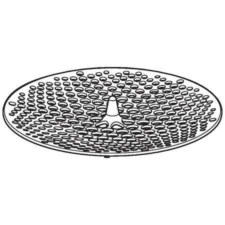 Geberit Příslušenství Pisoárové sitko pro sifonový adaptér, průměr 103-125 mm 116.067.00.1