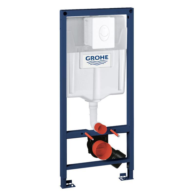 Grohe Rapid SL Sada 2 v 1 pro WC, alpská bílá 38764001