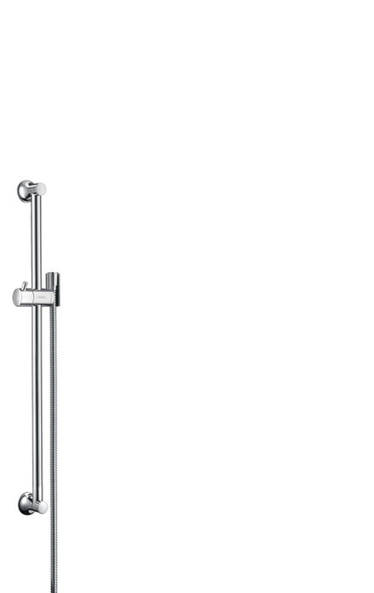 Hansgrohe Croma Classic Nástěnná sprchová tyč Unica'Classic 0,65 m, chrom 27617000