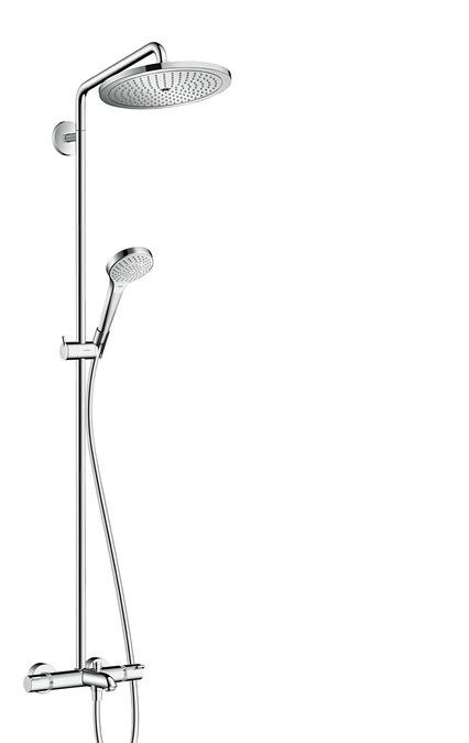 Hansgrohe Croma Select Sprchová souprava 280 1jet Showerpipe k vaně, chrom 26792000