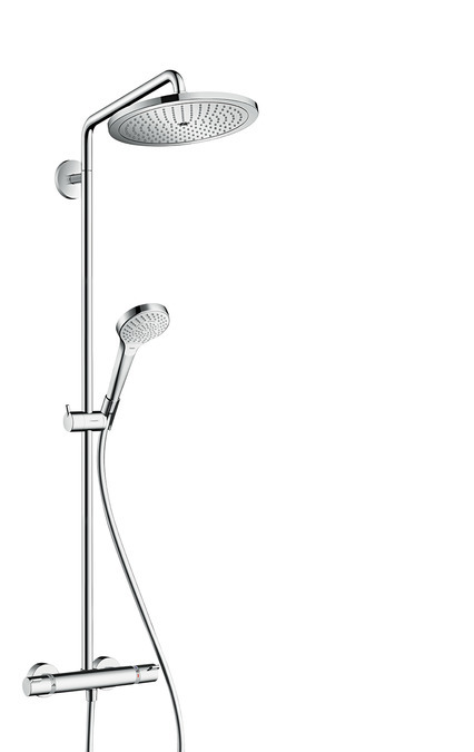 Hansgrohe Croma Select Sprchová souprava 280 1jet Showerpipe EcoSmart 9 l/min, chrom 26794000