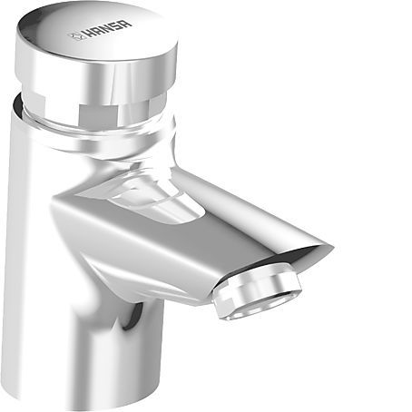 Hansa Polo Samouzavírací umyvadlový ventil na studenou vodu, chrom 51472211