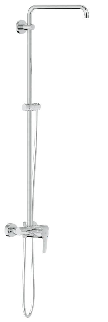 Grohe Euphoria Sprchový systém s pákovou baterií na omítku, chrom 26240000