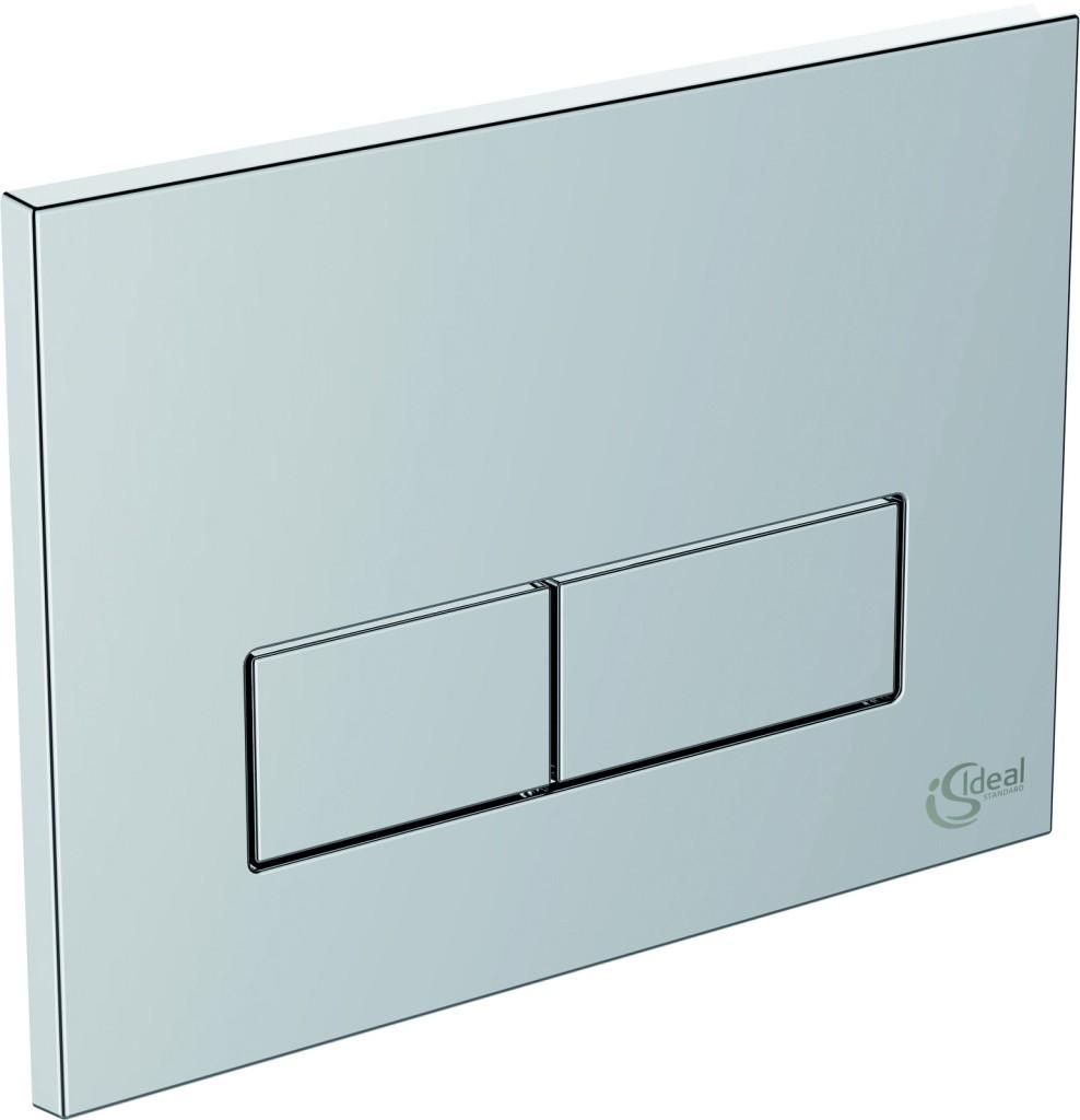Ideal Standard Tlačítka Ovládací tlačítko Ideal System mechanické, satin chrom W3708AD