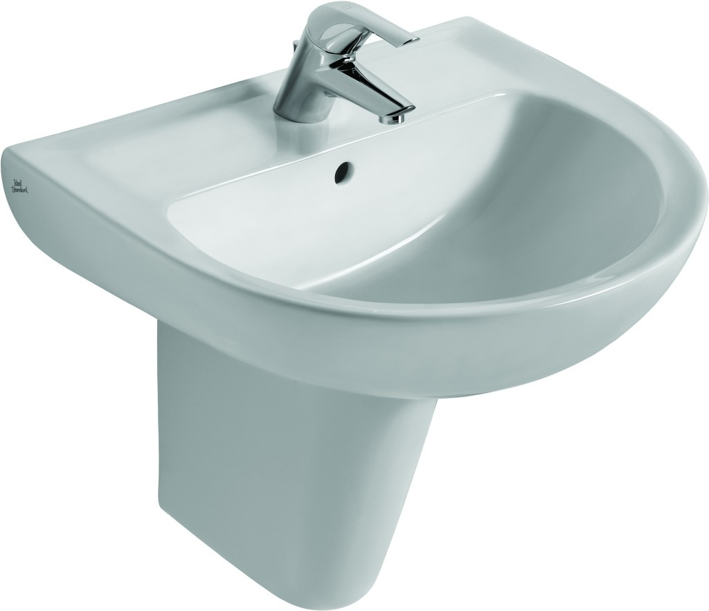 Ideal Standard Eurovit Umyvadlo 215 x 650 x 475 mm, bílá V134001
