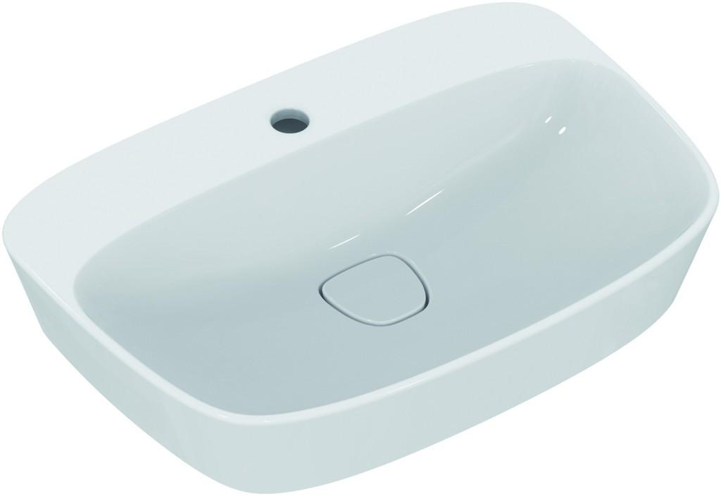 Ideal Standard Umyvadlo na desku 620 x 430 x 160 mm, 1 otvor pro baterii, s Ideal Plus, bílá T0445MA