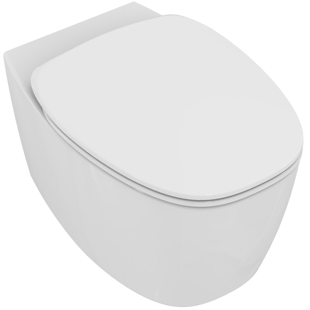 Ideal Standard Dea Závěsný klozet 335 x 365 x 550 mm rimless, bílá matná T331683