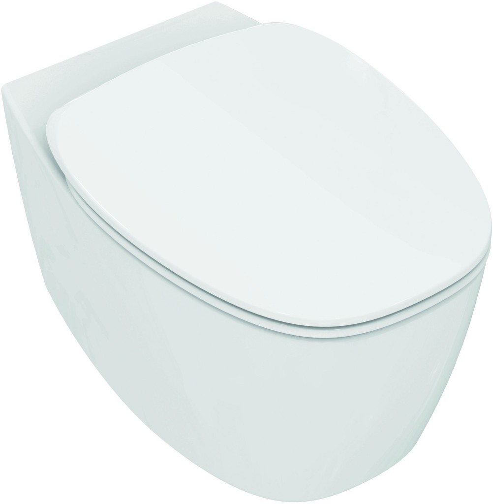 Ideal Standard Dea Závěsný klozet 355 x 365 x 550 mm s AquaBlade technologií, bílá matná T348683