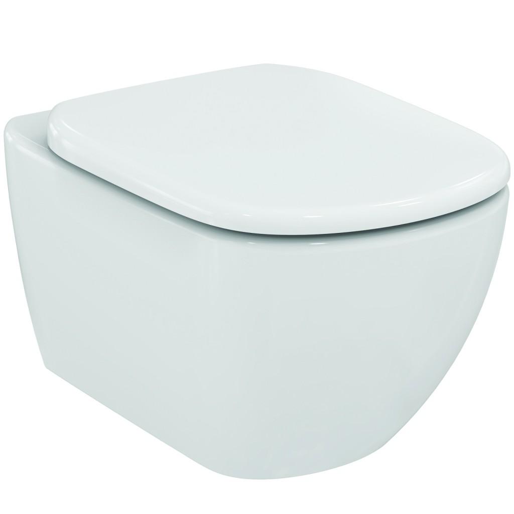 Ideal Standard Tesi Závěsný klozet 360 x 530 x 337 mm s AquaBlade technologií, bílá T007901