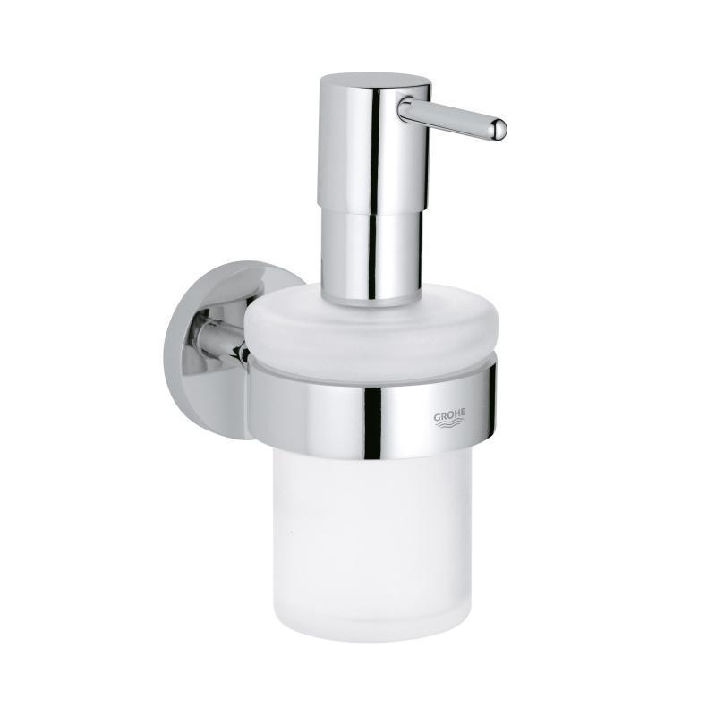 Grohe Essentials Dávkovač tekutého mýdla s držákem, chrom 40448001