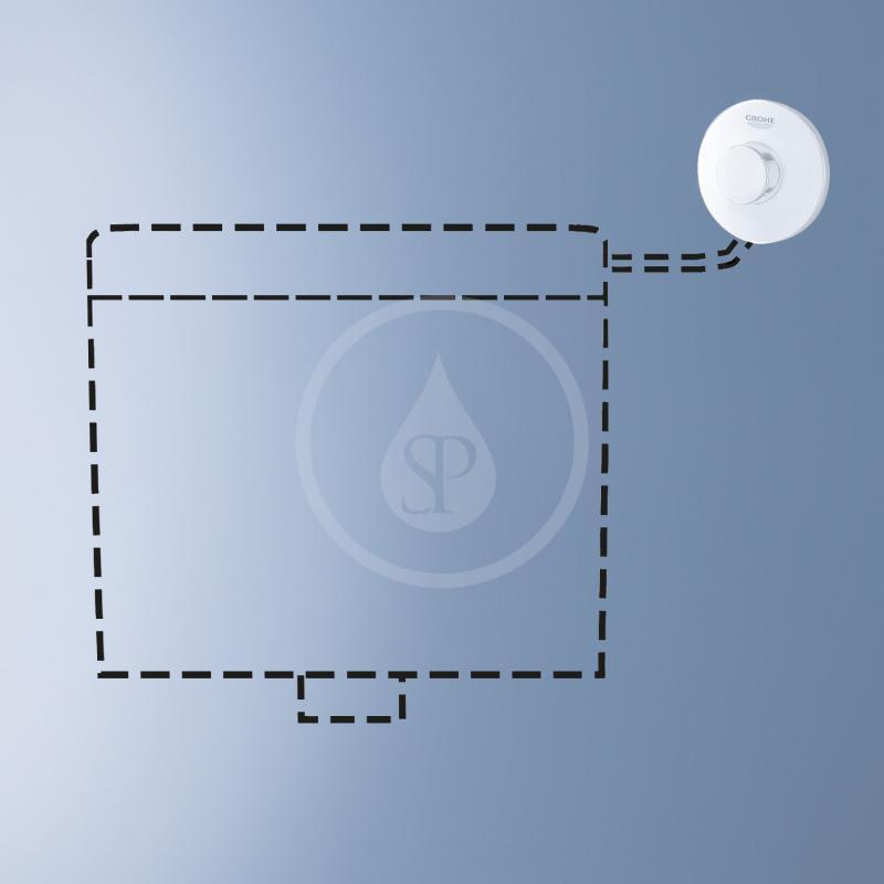 Grohe Příslušenství Splachovací WC nádržka, alpská bílá 37072SH0