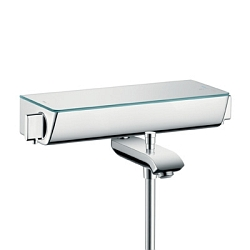 Hansgrohe Ecostat Select Vanová baterie termostatická, bílá/chrom 13141400