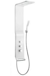 Hansgrohe Raindance New Sprchový panel Lift 180 2jet , bílá/chrom 27008400