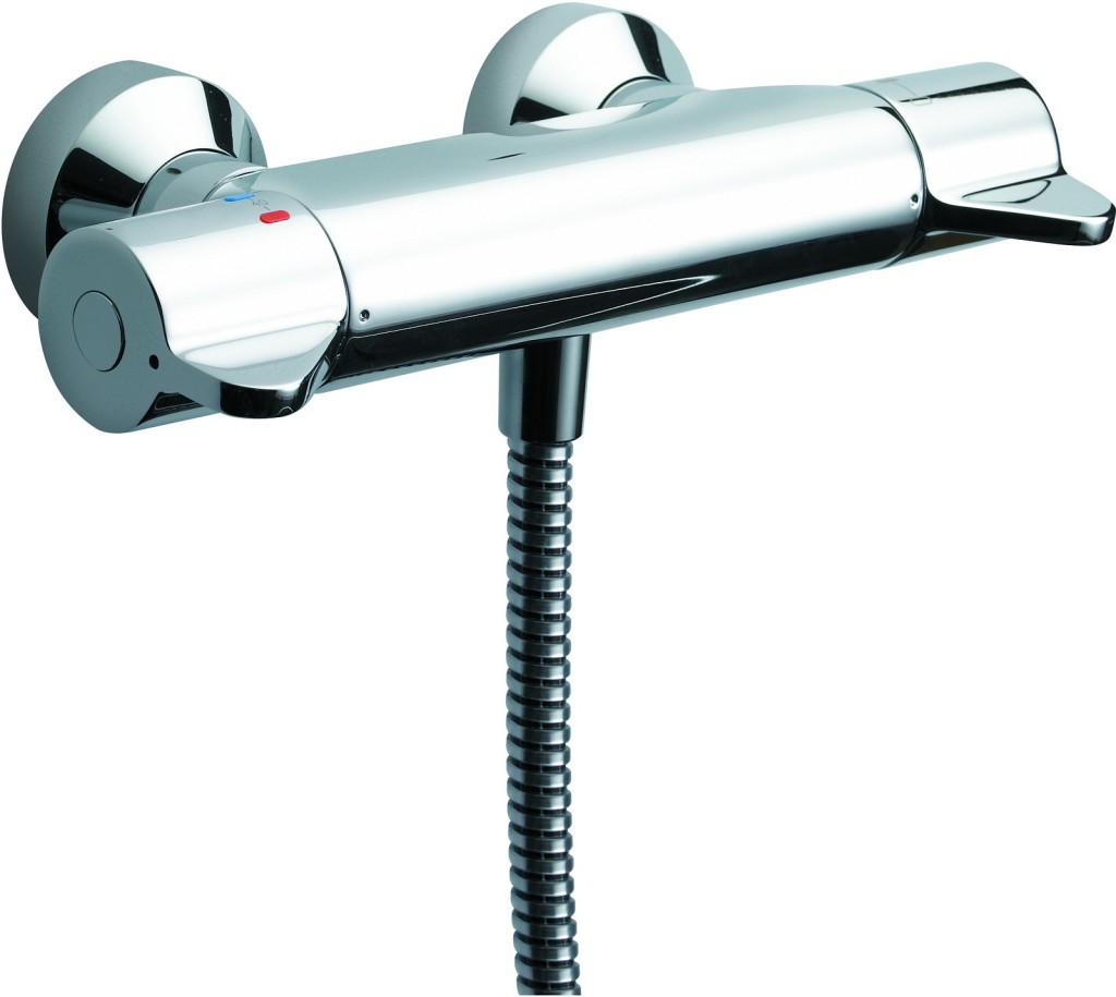 Ideal Standard CeraPlus Sprchová baterie termostatická nástěnná, chrom A4088AA
