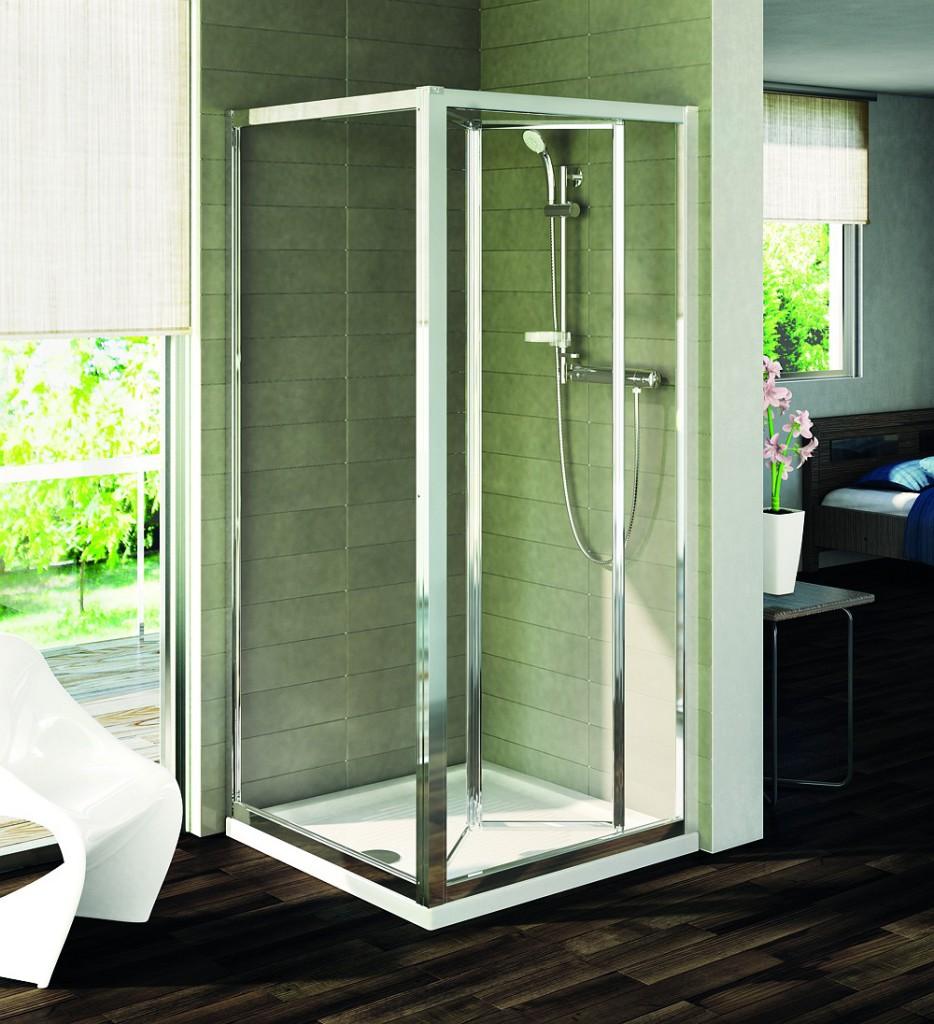 Ideal Standard Connect Pevná boční stěna 100 cm, matné sklo, silver bright (lesklá stříbrná) T9922EO