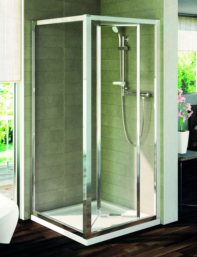 Ideal Standard Connect Pevná boční stěna 80 cm, matné sklo, silver bright (lesklá stříbrná) T9918EO
