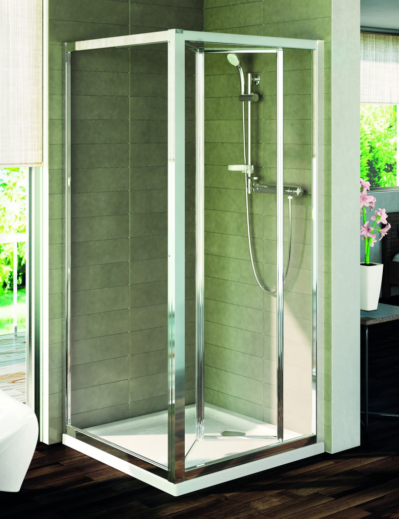 Ideal Standard Connect Pevná boční stěna 90 cm, matné sklo, silver bright (lesklá stříbrná) T9920EO