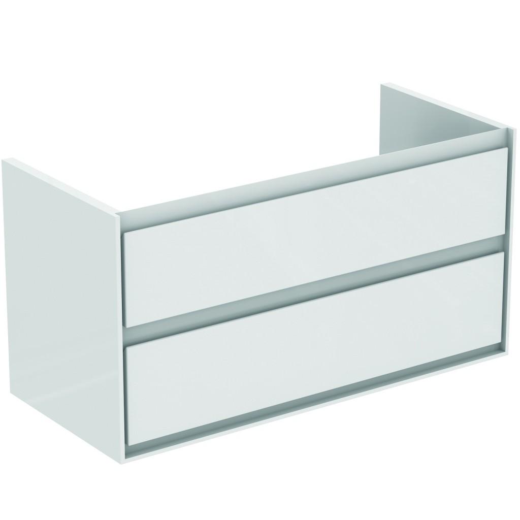 Ideal Standard Connect Air Skříňka pod umyvadlo 100 cm, 517 x 1000 x 440 mm, 2 zásuvky, dekor světlé dřevo lak E0821UK