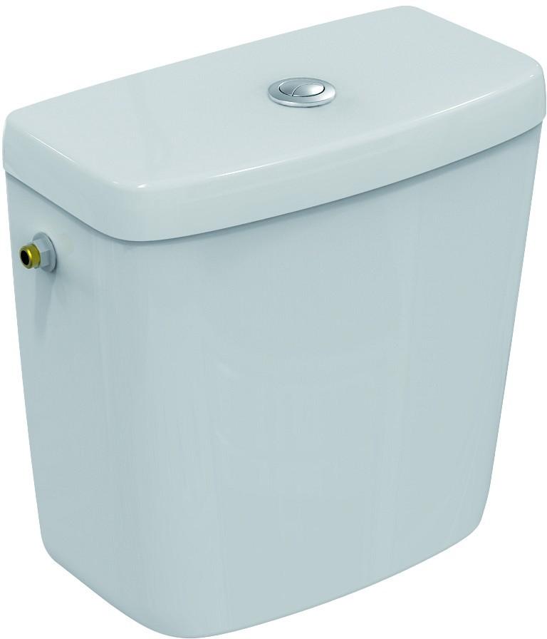 Ideal Standard Contour 21 Nádrž 3/6 l (boční napouštění), bílá E876001