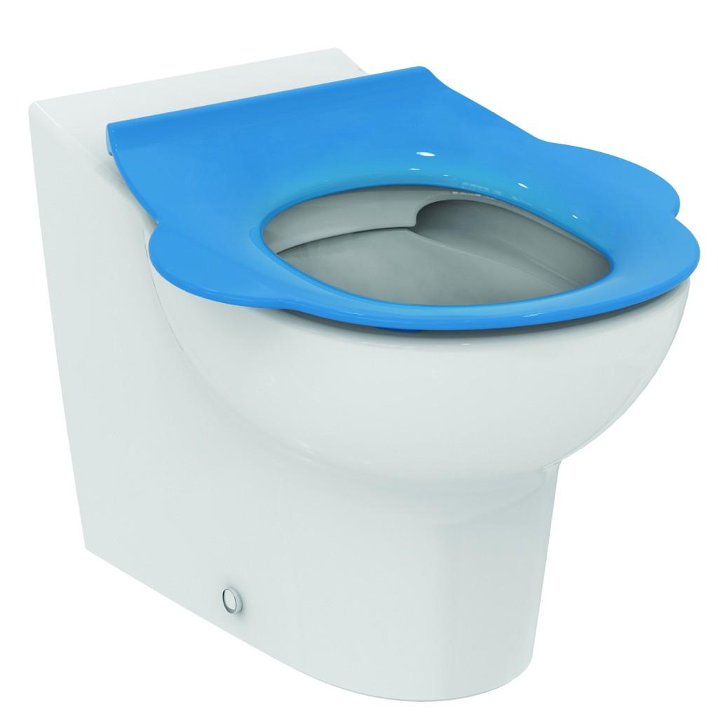 Ideal Standard Contour 21 WC sedátko dětské 3-7 let (S3123) bez poklopu, modrá S454236