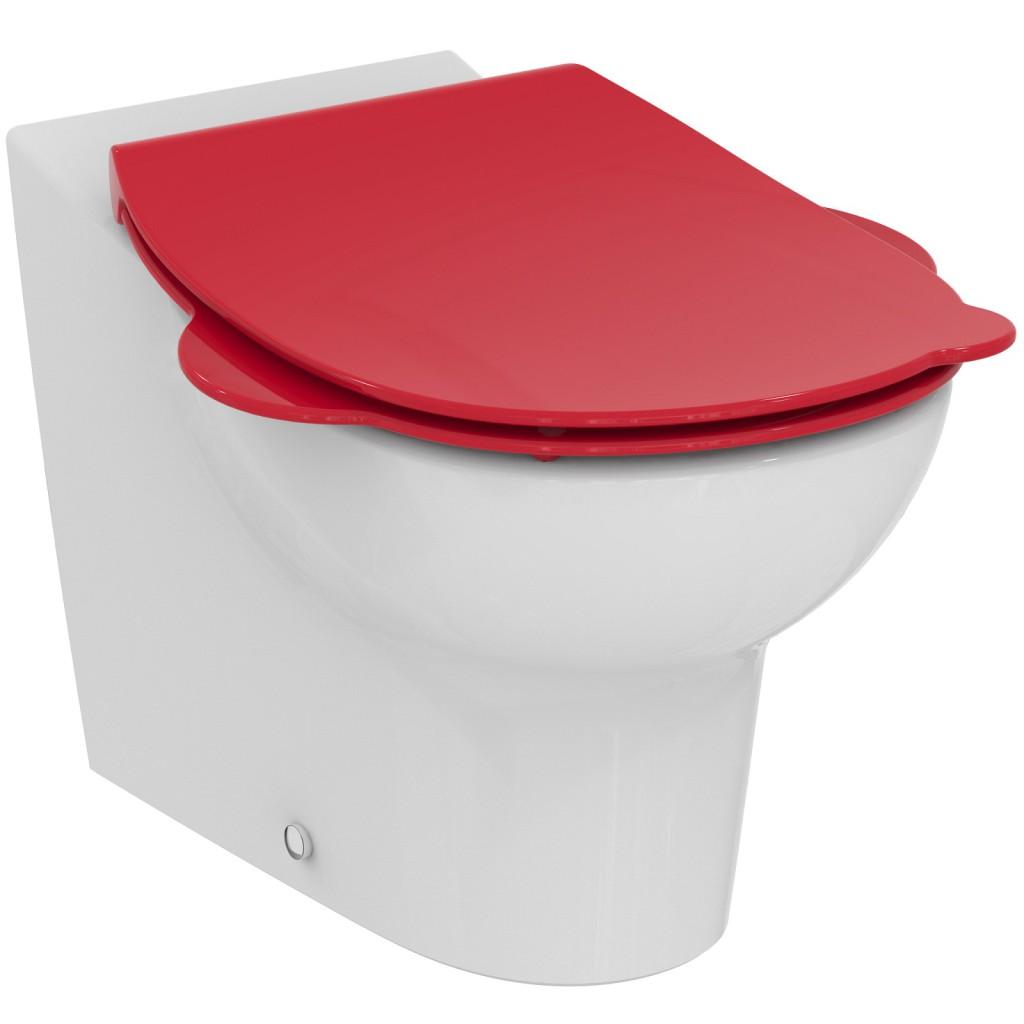 Ideal Standard Contour 21 WC sedátko dětské 3-7 let (S3123), červená S4533GQ