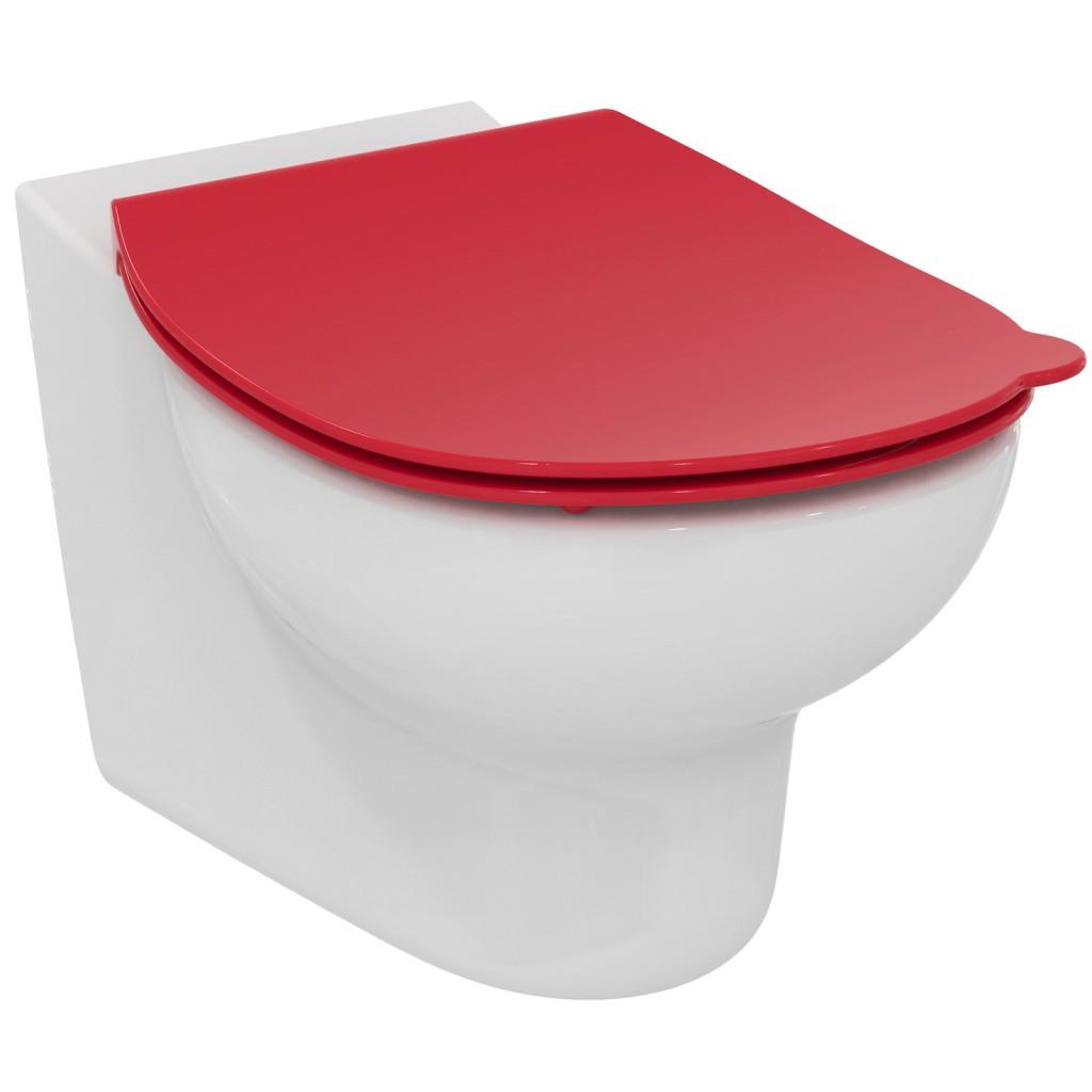 Ideal Standard Contour 21 WC sedátko dětské 7-11 let (S3128 a S3126), červená S4536GQ