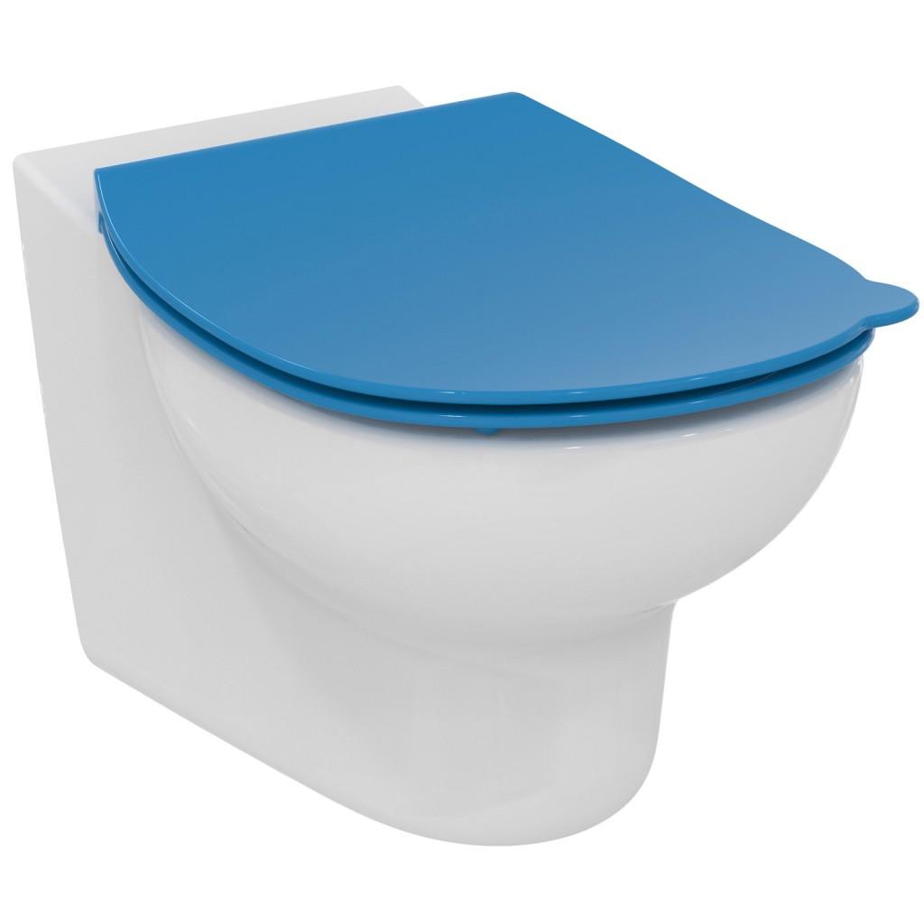 Ideal Standard Contour 21 WC sedátko dětské 7-11 let (S3128 a S3126), modrá S453636