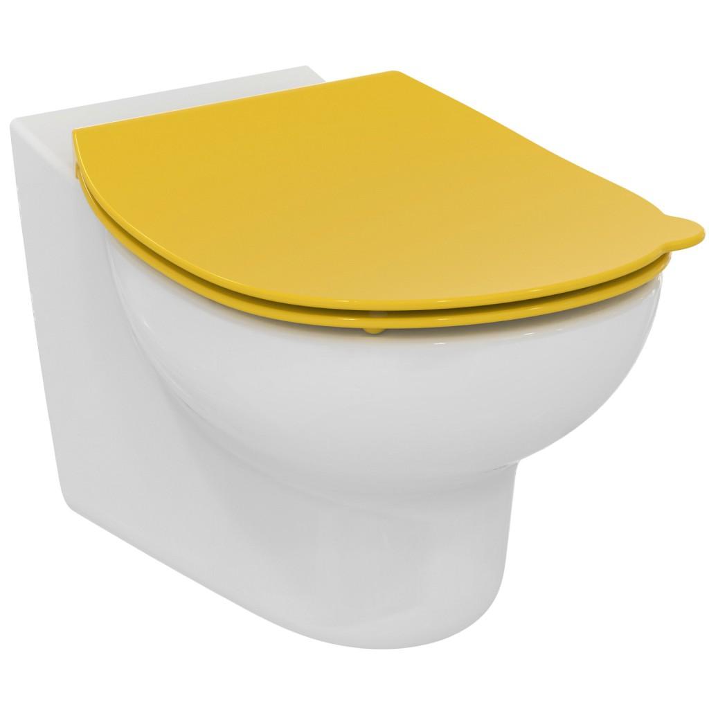 Ideal Standard Contour 21 WC sedátko dětské 7-11 let (S3128 a S3126), žlutá S453679