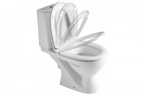 Ideal Standard Eurovit WC sedátko Soft-close, bílá W301801