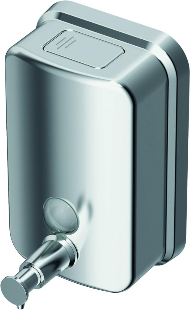 Ideal Standard IOM Dávkovač na tekuté mýdlo 500 ml (nástěnný), nerez ocel kartáčovaná A9109MY