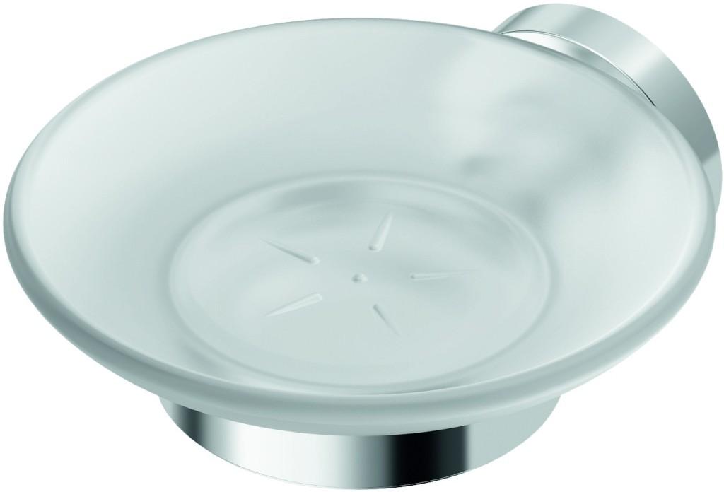 Ideal Standard IOM Držák na mýdlo, satinované sklo, chrom A9122AA