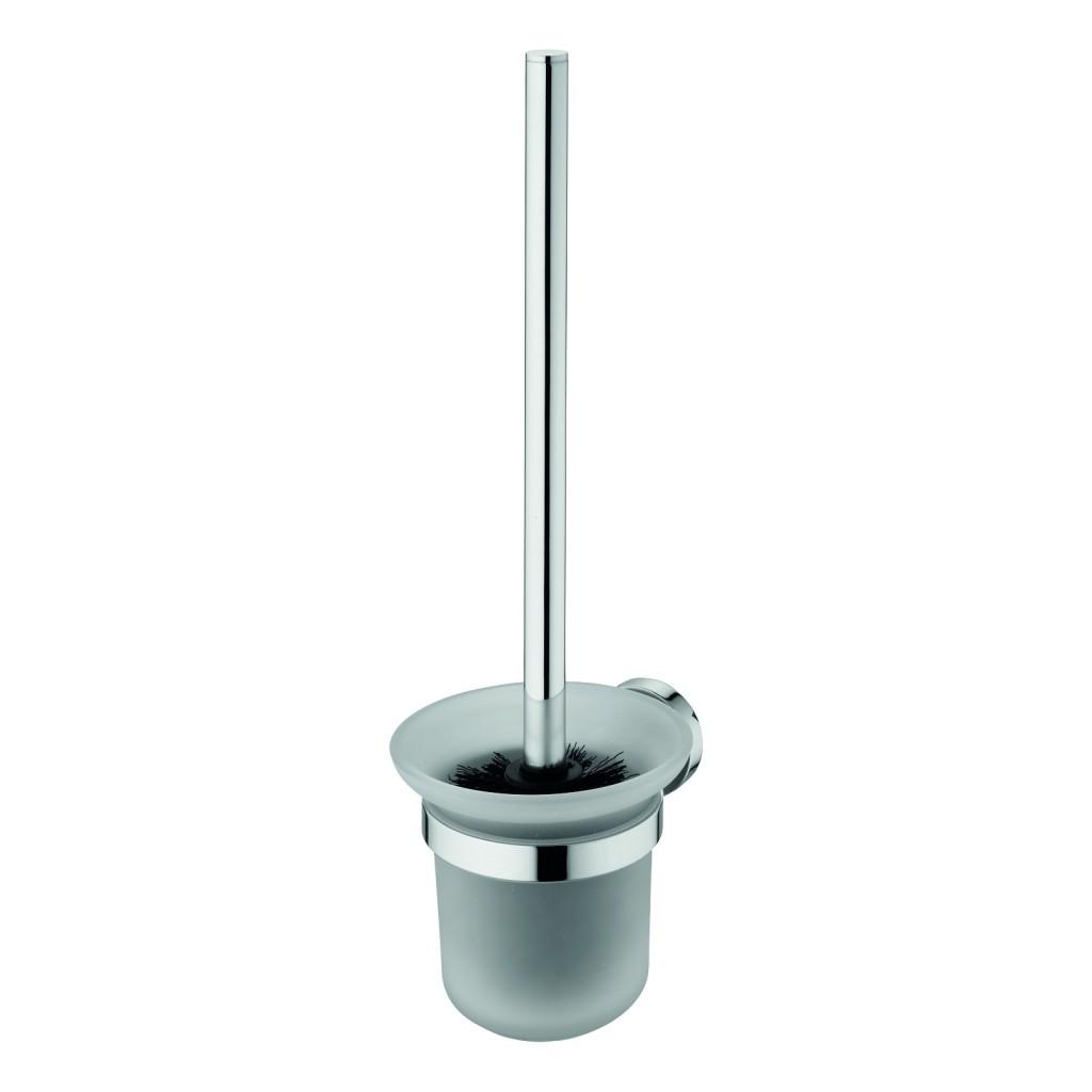 Ideal Standard IOM Kartáč na WC nástěnný (sklo), chrom A9119AA