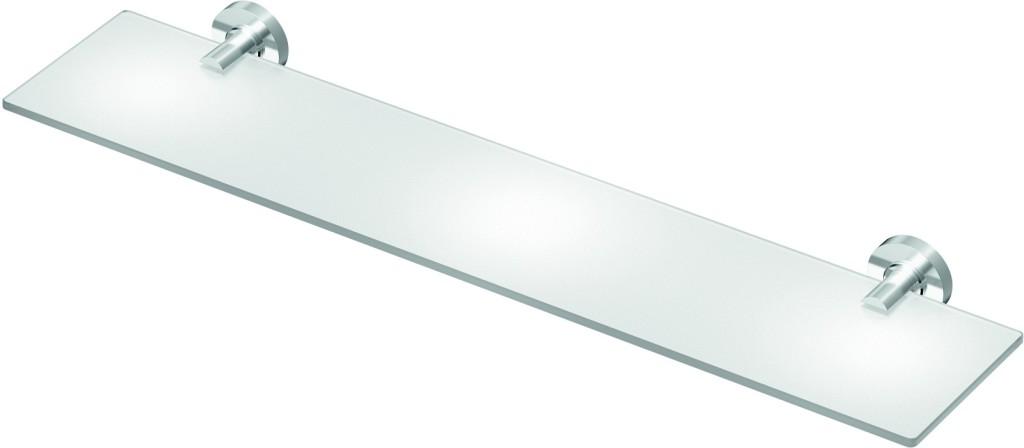 Ideal Standard IOM Skleněná polička 520 x 138 x 48 mm, satinované sklo, chrom A9124AA