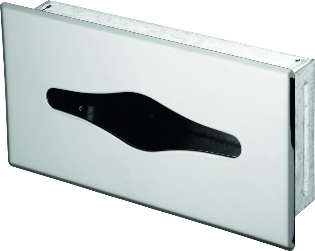 Ideal Standard IOM Zásobník na papírové ubrousky (zápustný), nerez ocel kartáčovaná A9133MY