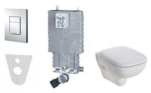 Grohe Uniset pro závěsné WC, kompletní sada 38643SET-KS
