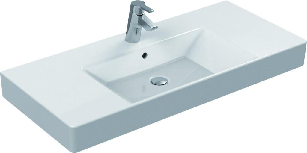 Ideal Standard Strada Nábytkové umyvadlo 1010 x 150 x 455 mm (glazovaná spodní strana), bílá K080901