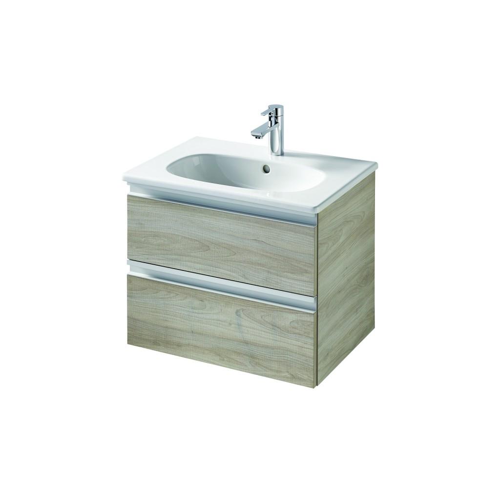Ideal Standard Tesi Skříňka pod umyvadlo 600 x 440 x 490 mm, 2 zásuvky, dekor sv. dřevo T0050VI
