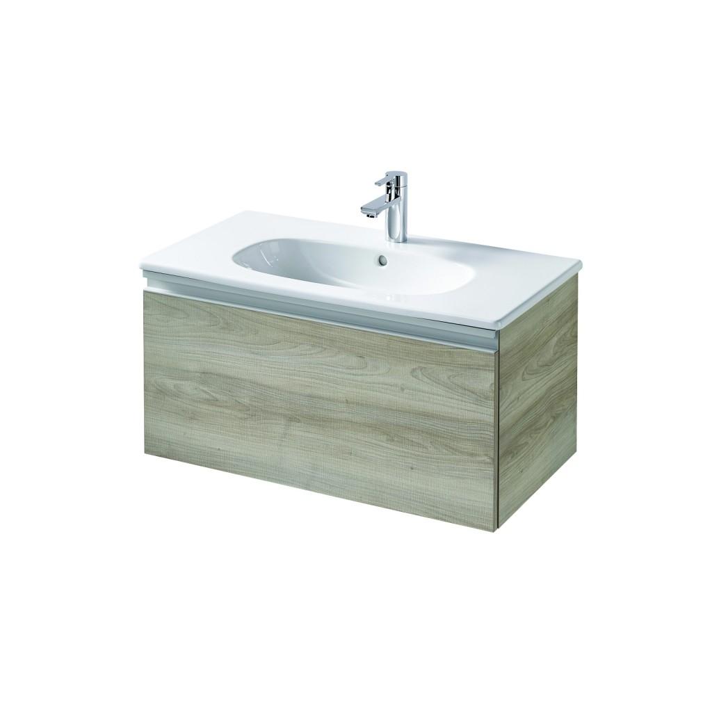 Ideal Standard Tesi Skříňka pod umyvadlo 800 x 440 x 400 mm, 1 zásuvka, dekor sv. dřevo T0047VI