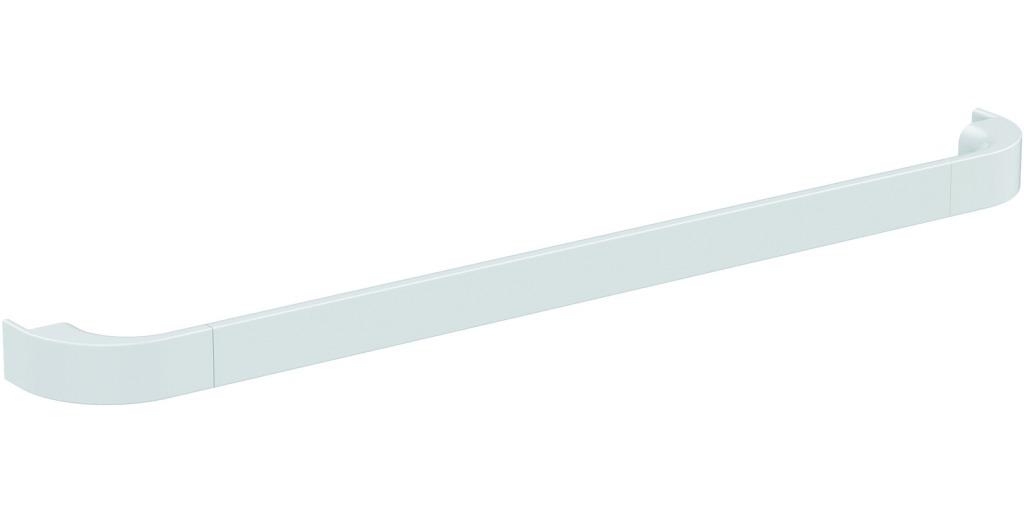 Ideal Standard Tonic II Designové madlo 597 x 66 x 30 mm, lesklý lak bílý R4358WG
