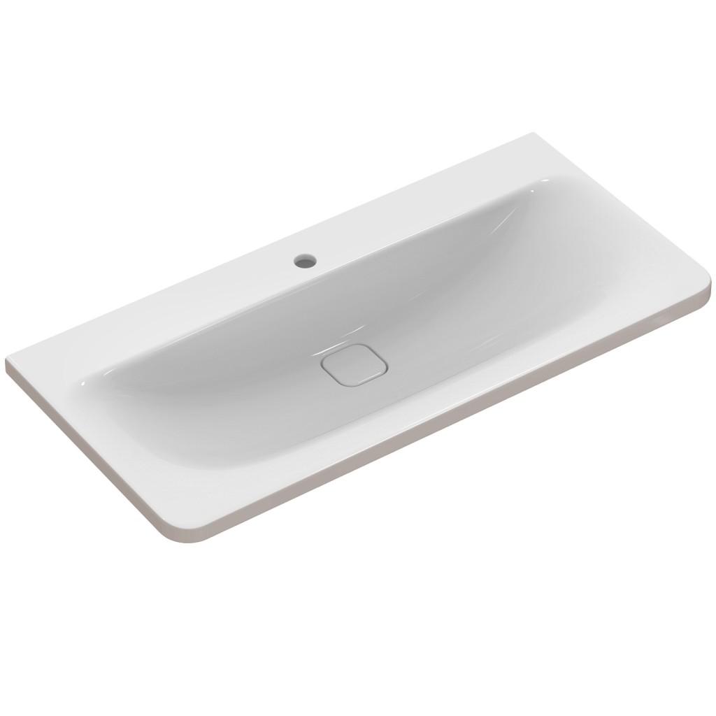 Ideal Standard Nábytkové umyvadlo 1015 x 490 x 170 mm, pro kombinaci s umyvadlovou skříňkou Tonic II, bílá s Ideal plus K0862MA