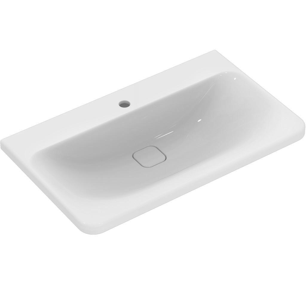 Ideal Standard Nábytkové umyvadlo 815 x 490 x 170 mm, bílá, pro kombinaci s umyvadlovou skříňkou Tonic II, bílá K083901