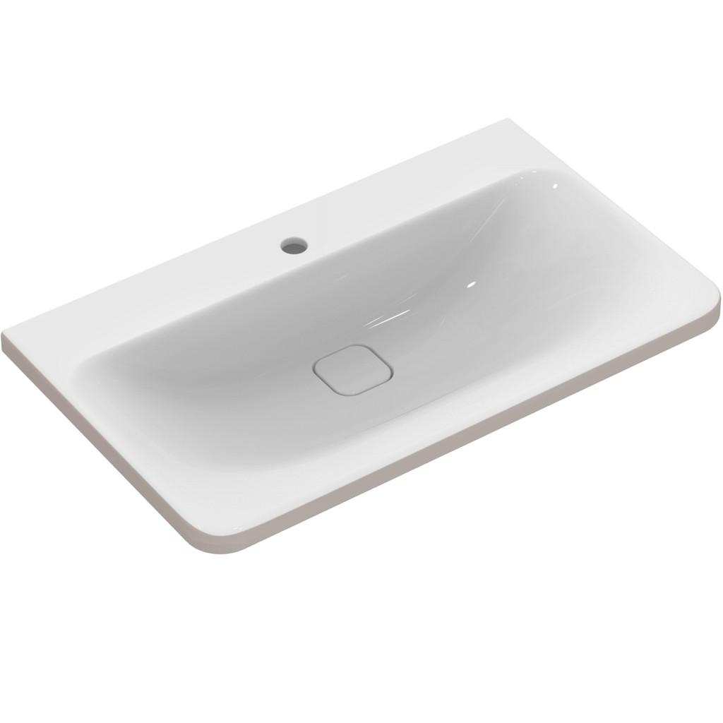 Ideal Standard Nábytkové umyvadlo 815 x 490 x 170 mm, pro kombinaci s umyvadlovou skříňkou Tonic II, bílá s Ideal plus K0839MA