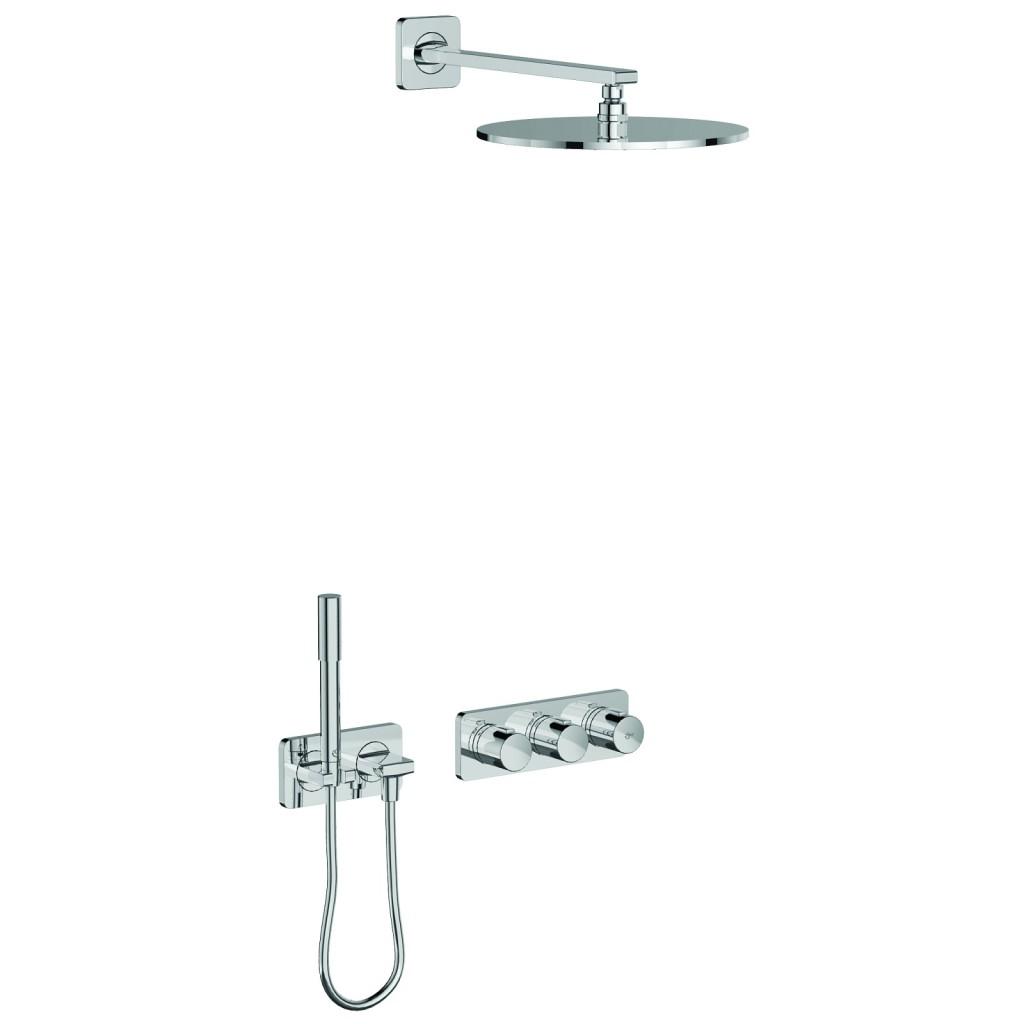 Ideal Standard Archimodule Sprchová souprava SOFT s hlavovou a ruční sprchou, chrom A1549AA