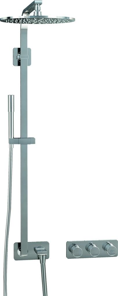 Ideal Standard Archimodule Sprchová souprava SOFT s hlavovou a ruční sprchou, chrom A1551AA