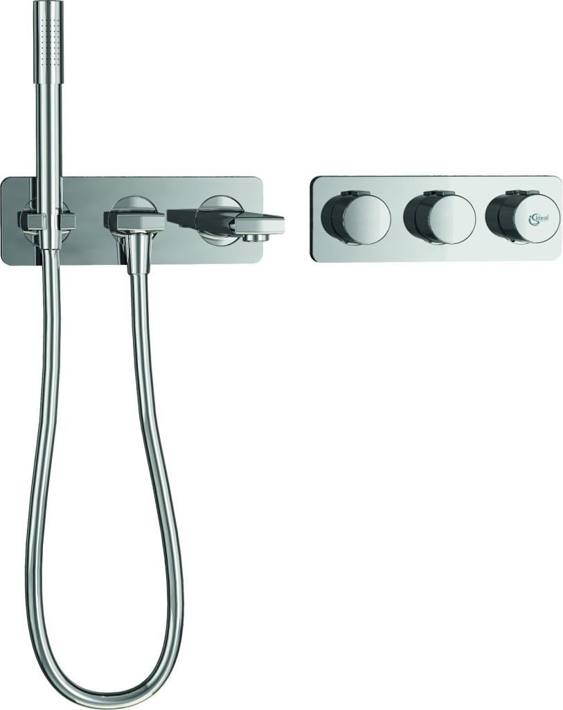 Ideal Standard Archimodule Sprchová souprava SOFT s ruční sprchou a vanovým vývodem, chrom A1552AA