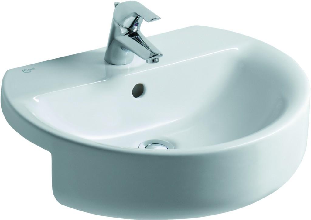 Ideal Standard Connect Umyvadlo polozápustné 550 x 170 x 465 mm, bílá s Ideal plus E7923MA