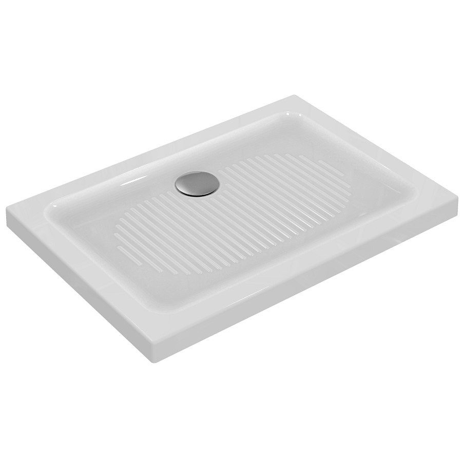 Ideal Standard Connect Sprchová vanička keramická 1000 x 700 mm, bílá T267501